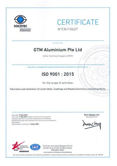 GTM-ISO-SAC-2018-2021